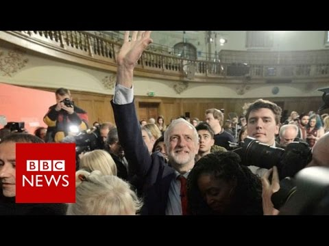 Jeremy Corbyn vows to 'overturn the rigged system' - BBC News