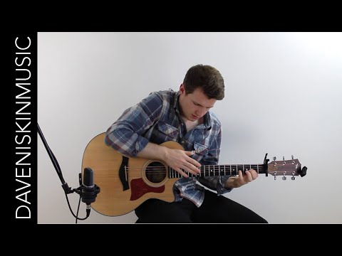 A Whole New World - Fingerstyle Acoustic Guitar Cover (Disney Soundtrack)