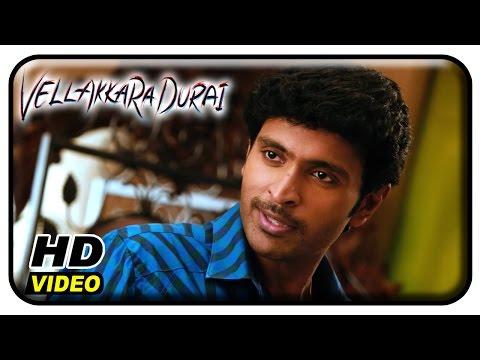 Vellaikaara Durai Movie Scenes | Sri Divya confesses her love to Vikram Prabhu | John Vijay | Soori