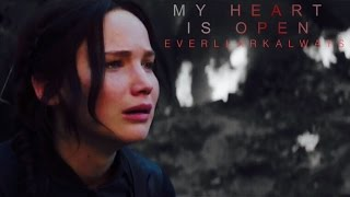 Katniss and Peeta - My Heart is Open