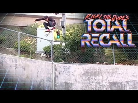 Total Recall:  Sheckler's Gigantic Kickflip