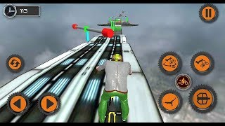 Impossible BMX Crazy Stunt Racing Tracks 3D Android Gameplay || Bicycle Stunt game