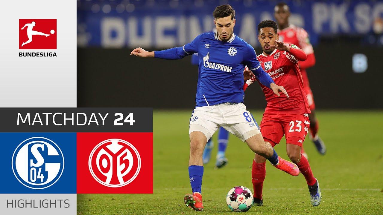 Both Goalkeepers Perform Well | FC Schalke 04 - 1. FSV Mainz 05 | Highlights | Matchday 24