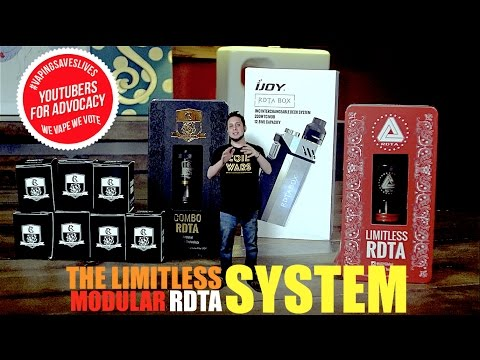 The iJoy Limitless System | RDTA BOX | COMBO RDTA | NEW LIMITLESS RDTA CLASSIC