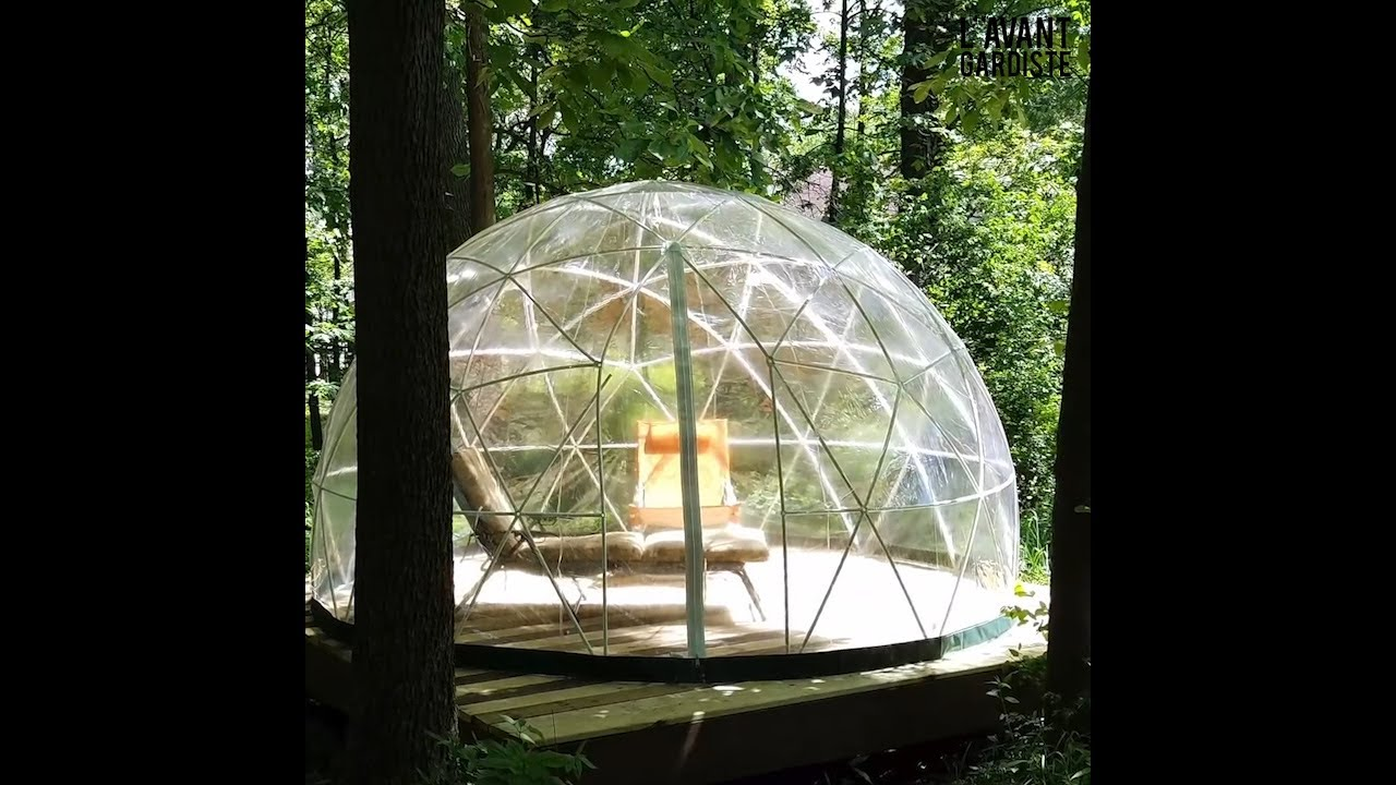 Tente de jardin garden igloo youtube - Igloo de jardin ...