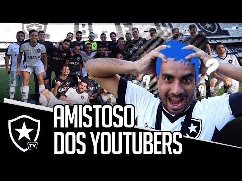 JAMAL PINTOU O CABELO NO AMISTOSO DOS YOUTUBERS