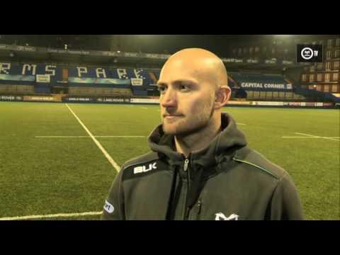 Ospreys TV: Richard Fussell post Cardiff Blues