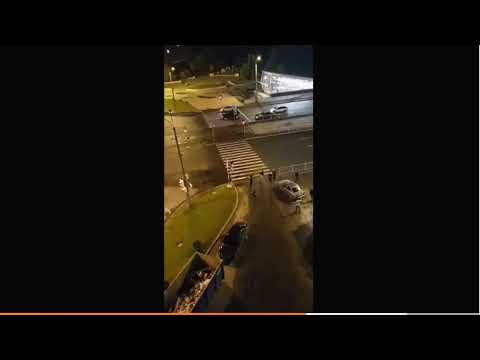 Дагестанцы и армяне устроили массовую драку в Петербурге - видео