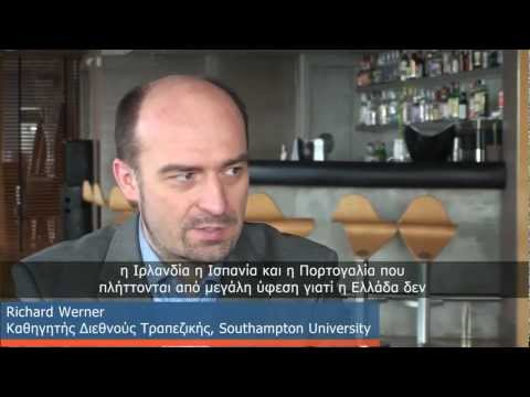 Prof. Richard Werner:Solutions for Greece. Interview at capital.gr