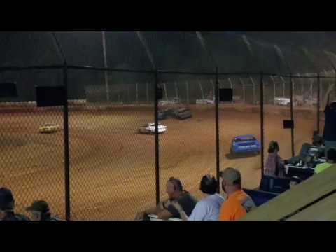 8/9/16 Harris speedway pure stock v8 big hit