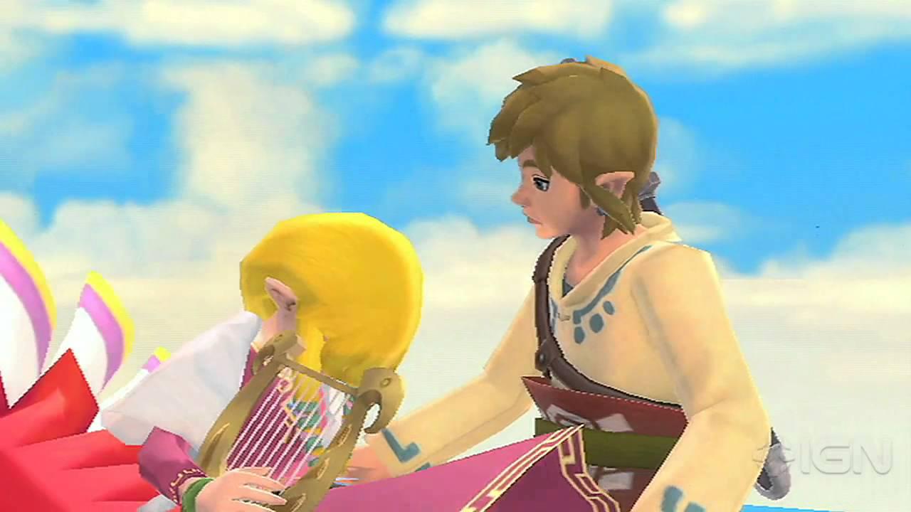 The Legend of Zelda: Skyward Sword Romance Trailer - YouTube