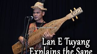 Lan E Tuyang Explains Sape Playing at RWMF 2015 Preview