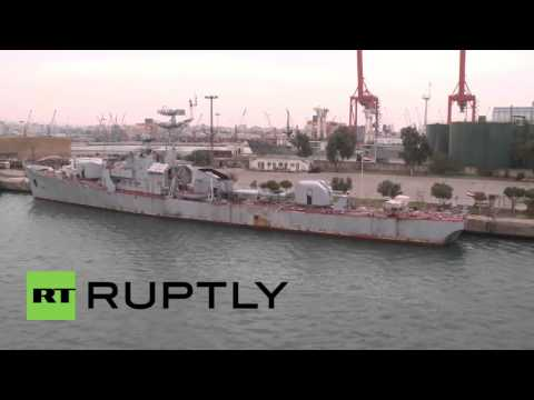 Syria: See Inside The Crucial Tartus Port That Supports Russia's Navy