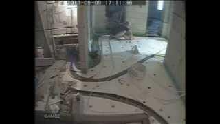Теплый пол своими руками за неделю - ускоренное видео устройства водяного теплого пола.(Видео снимал в течении недели на обычную камеру наружного наблюдения - поэтому прошу простить за качество......, 2013-12-04T21:25:54.000Z)