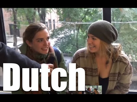 What Dutch sounds like to foreigners/Hoe Nederlands klinkt voor buitenlanders