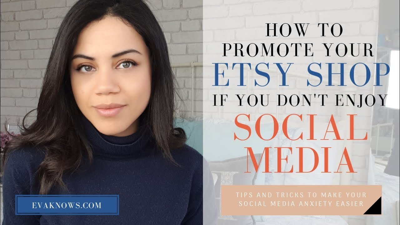 Etsy for Beginners: How to market your Etsy shop when you don't like social media!