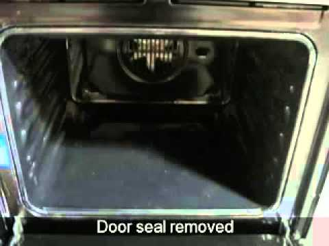 How To Replace The Door Seal On An Oven Ariston Creda