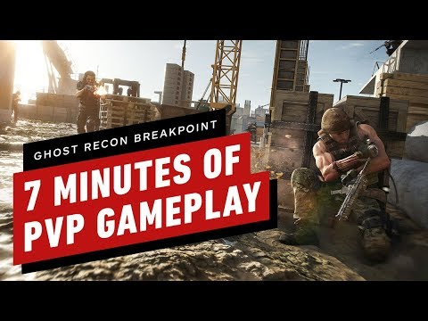 7 Minutes of Ghost Recon Breakpoint PVP Gameplay