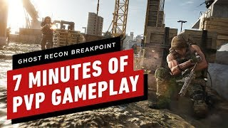 vuclip 7 Minutes of Ghost Recon Breakpoint PVP Gameplay