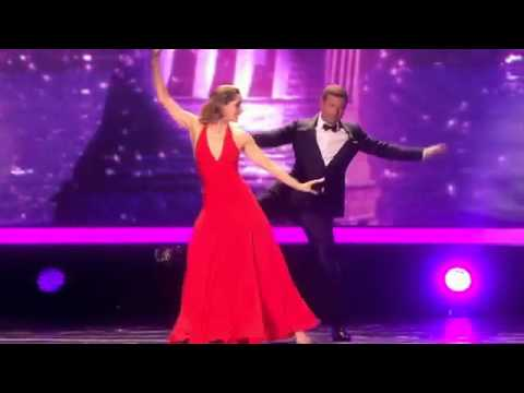 Dermot O'Leary and Darcey Bussell Dance at the 2013 NTA