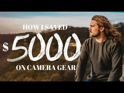 How I SAVED $5000 on CAMERA GEAR!
