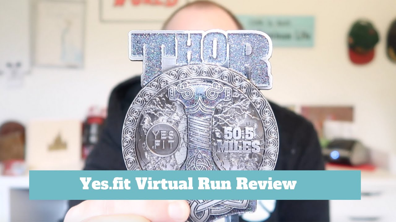 Assorted Yes.Fit Virtual Running Fitness Challenge Medals