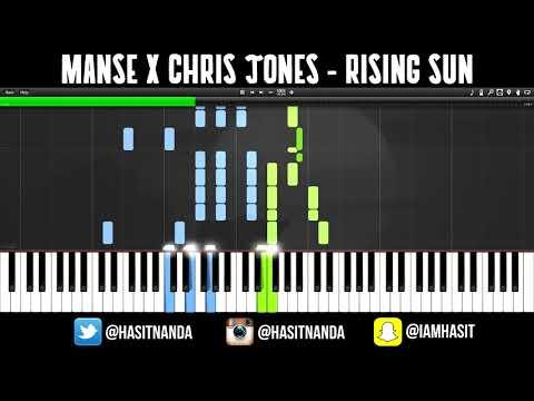Manse feat. Chris Jones - Rising Sun (Piano Tutorial)