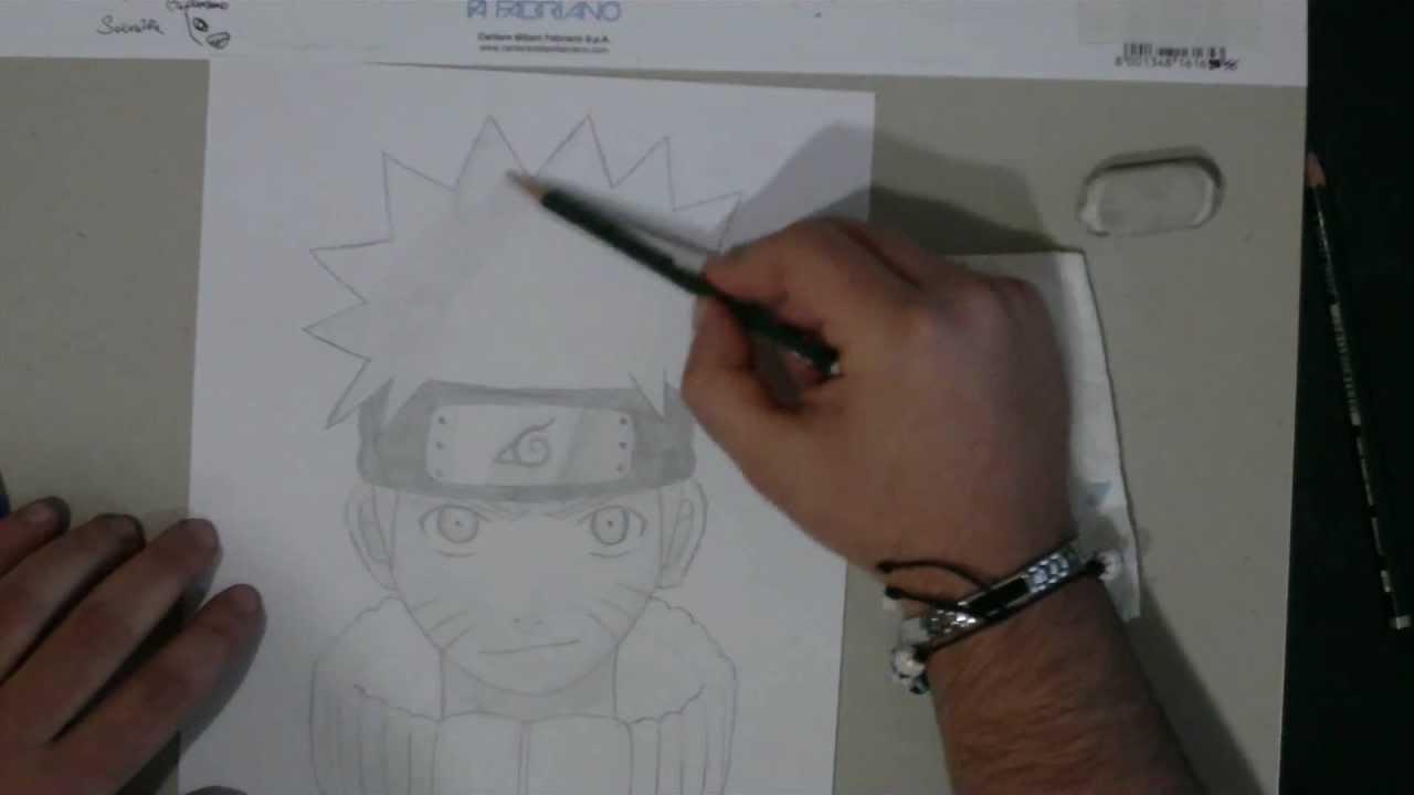 Tutorial Come Disegnare Naruto Youtube
