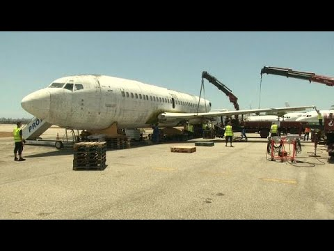 1977 Hijacked Plane To Be Restored In Germany Youtube