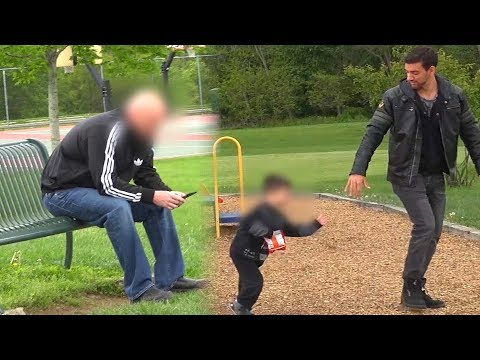 TAKING CHILD IN FRONT OF PARENTS (Social Experiment)