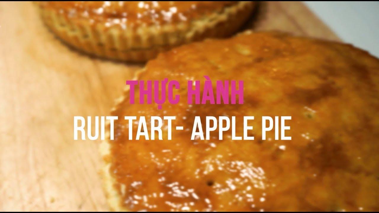 Học làm bánh ở TPHCM – Thực hành Bánh Pie & Tart