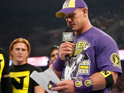 Raw: Wade Barrett officially welcomes John Cena to The Nexus