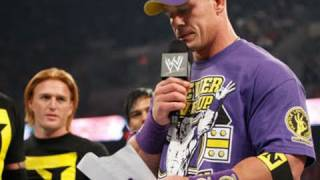 Raw: Wade Barrett officially welcomes John Cena to The Nexus thumbnail