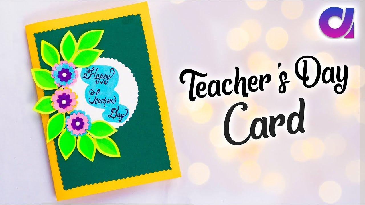 DIY Teacher's Day card | Handmade Teachers day card making idea | Slider Card | Artkala