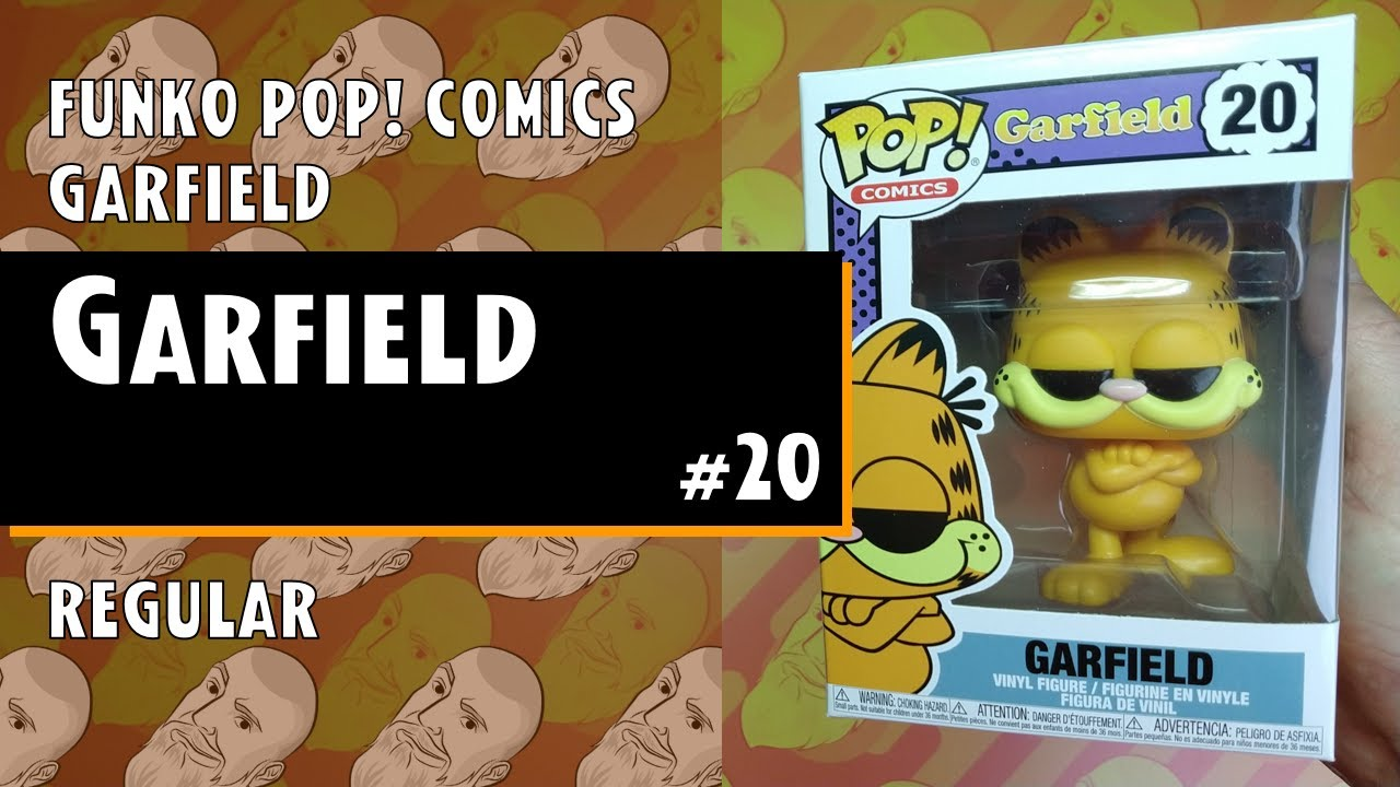 Funko Pop Comics Garfield Garfield 20 Just One Pop Showcase Youtube