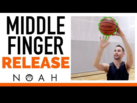 Get the PERFECT Middle Finger Shooting Release: Noah Basketball