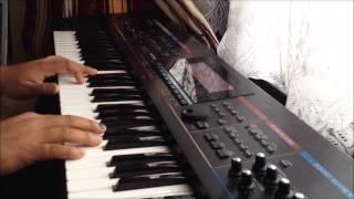 Oh Crazy Minnal - Naduvula Konjam Pakkatha Kaanom -  Piano Cover