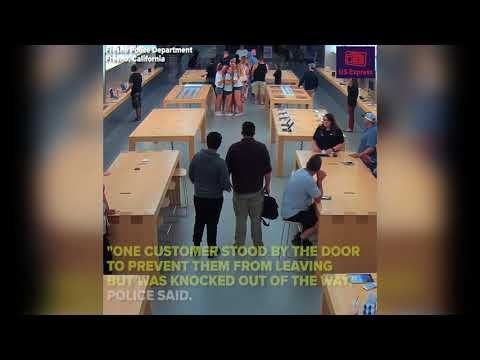 Almost $30,000 of Apple products stolen in brazen Apple Store robbery