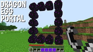 what if LIGHT DRAGON EGG PORTAL in Minecraft ???