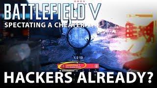 BATTLEFIELD 5 - Spectating a Cheater - Hacker - Aimbot (Battlefield V)