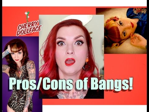 Pros & Cons of Bangs Hairstyle