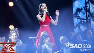 o holy night  hoang thi thanh thao   liveshow 4 the x factor - nhan to bi an 2016 ss2