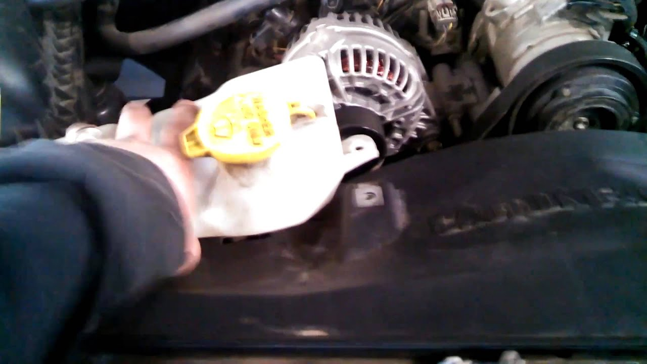 Water Pump Replacement 2006 Dodge Ram 1500 5 7l V8 2500