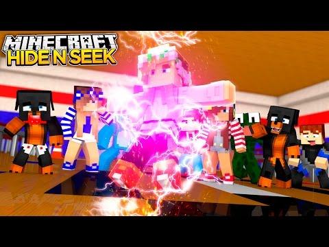 Minecraft HIDE N SEEK CHOP CHOP - THE ENTIRE LITTLE CLUB GET CHOPPED!! - donut the dog