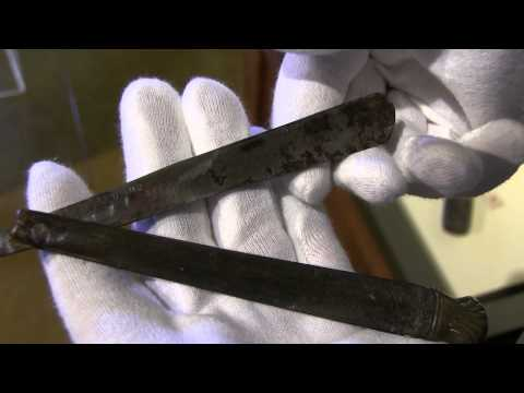 The 400-year-old Myles Standish razor