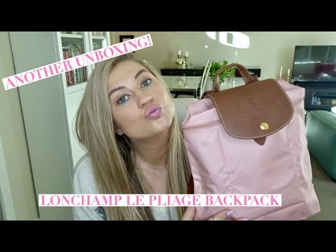LONGCHAMP LE PLIAGE BACKPACK UNBOXING