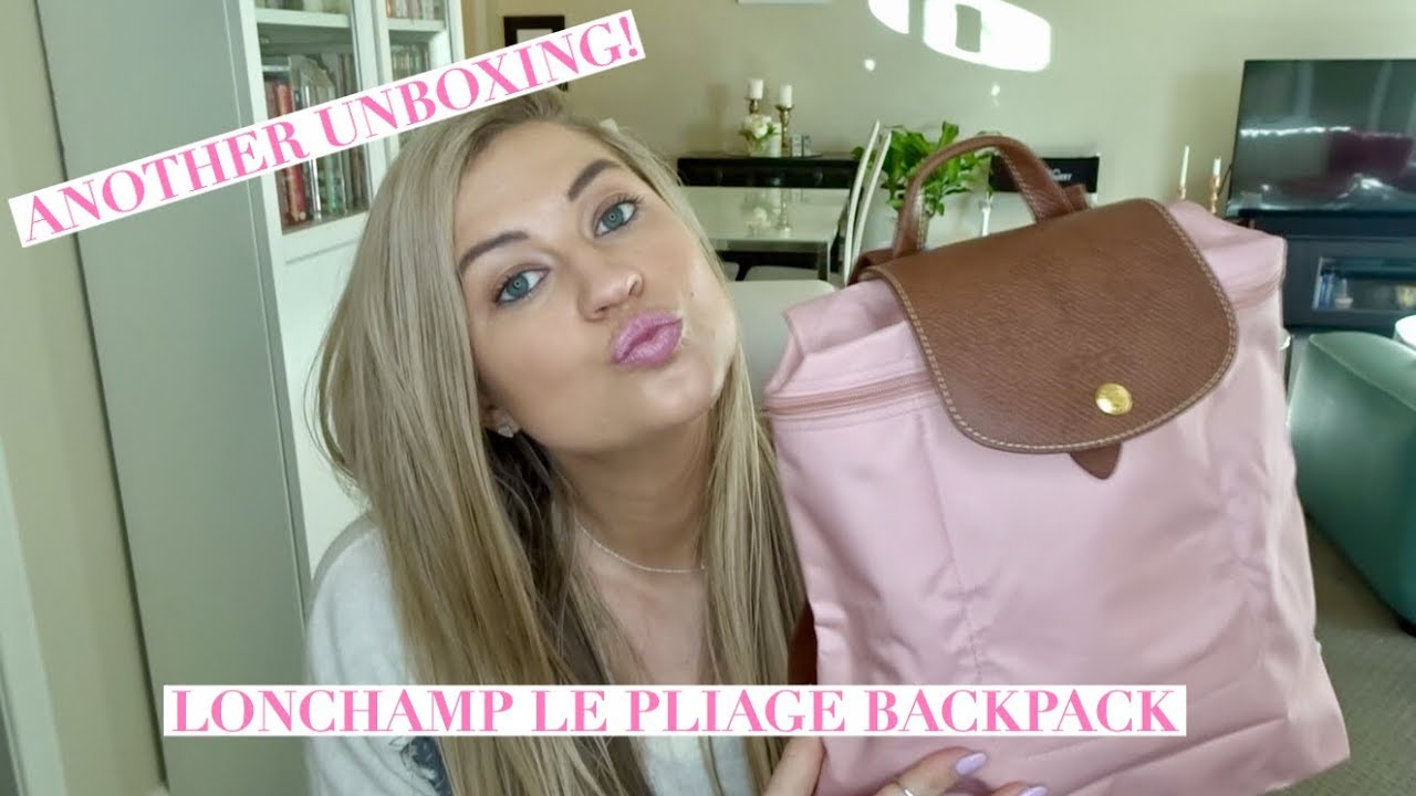 e5f740e563e6 LONGCHAMP LE PLIAGE BACKPACK UNBOXING - YouTube