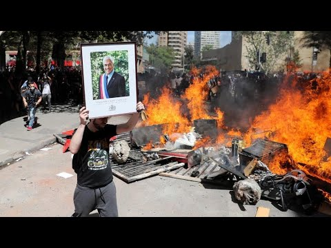 Chilean President Announces Reforms As Protests Continue