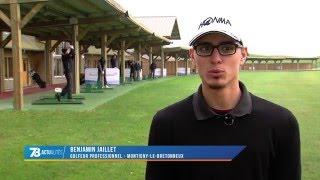 Golf : Benjamin Jaillet, jeune golfeur sur le circuit pro