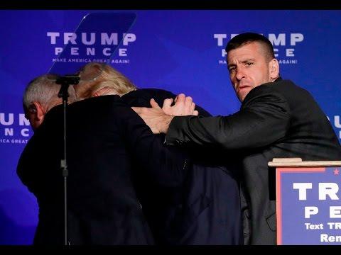 Donald Trump Assassination Attempt On Video HD